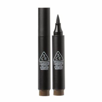 Harga [3CE] LONGWEAR TATTOO EYEBROW MARKER #ASH BROWN 3g