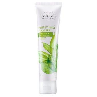 Harga Avon Naturals Green Tea & Tea Tree Oil Purifying Cleanser 100g