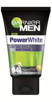 Harga Garnier Men Power White Scrub 100ml