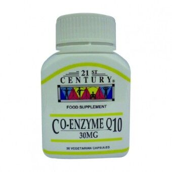 Harga 21ST CENTURY Co-Enzyme Q10 30mg 30 capsules