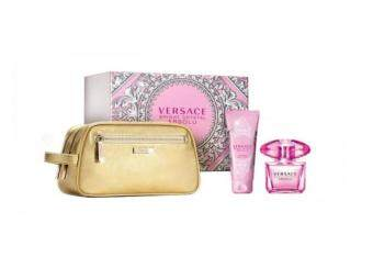 Harga VERSACE Bright Crystal Absolue Eau de Parfum 90ml + Body Lotion 100ml + Trousse Gold for Women Gift Set