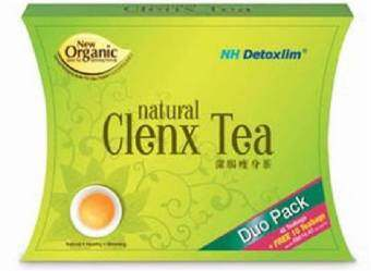 Harga NH Clenx Tea Duo Pack 40's+10's Teabags