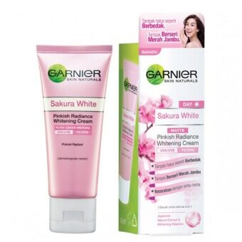 Harga Garnier Sakura White Pinkish Radiance Whitening Day Cream 40ml