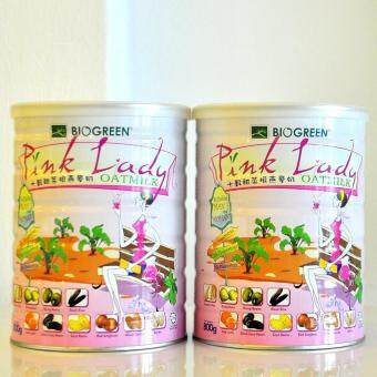 Harga Biogreen Pink Lady Oatmilk Twin Pack (800gX2)