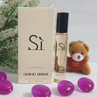 Harga [Hot Selling] Giorgio Armani Si EDP 20ml for Men- Mini Perfume