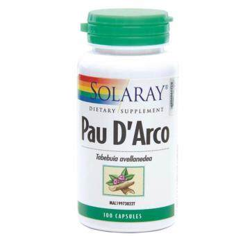 Harga SOLARAY PAU D' ARCO - 100 CAPSULES (MAL19973822T) - Natural antibiotic to strengthen immunity