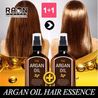 Harga RAON ♥ 1+1 The Argan hair oil 100ml+100ml / hair care / damaged hair care / hair essence