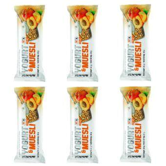 Harga BiotechUSA Energy Bar Yogurt Muesli, 30g, 6 bar (Apricot)