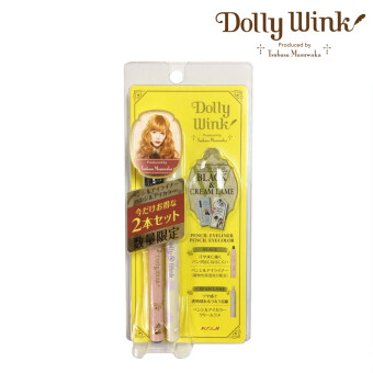 Harga Koji Dolly Wink Limited Edition Pencil Eyeliner BK + Pencil Eye Color