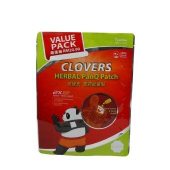 Harga CLOVERS Herbal Panq Patch Value Pack (7 Pcs)