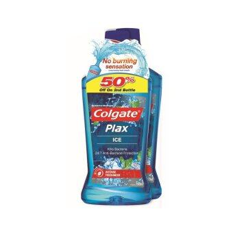 Harga COLGATE Plax Mouthwash Ice 750ml