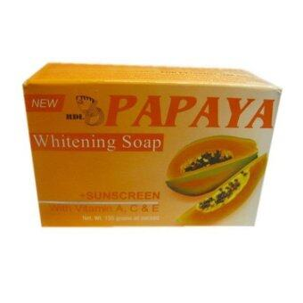 Harga Papaya Whitening Soap 135g