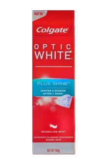 Harga Colgate Optic White Plus Shine Toothpaste 100g