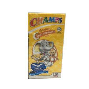 Harga Champs C Chewable 30mg 100 Tablet Vitamin C