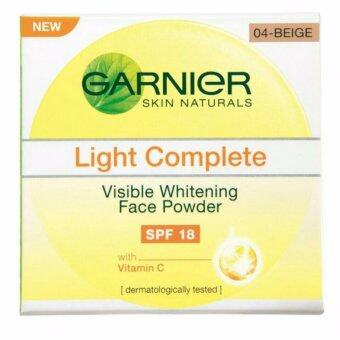 Harga Garnier Light Complete Face Powder SPF18 04 Beige