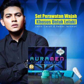 Harga Aura Men Skincare Set 4 in 1