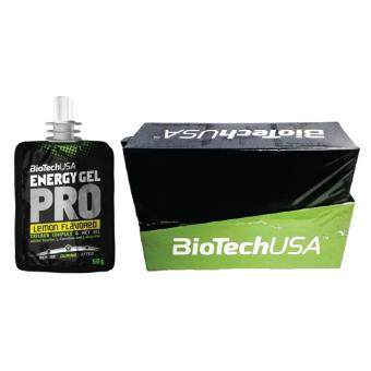 Harga BioTechUSA Energy Pro Gel 60g (12 packs) - Lemon