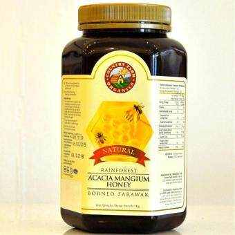 Harga Country Farm Organic Rainforest Acacia Honey - 1kg