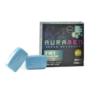 Harga Aura Men Super Advanced Face Soap 2 in 1