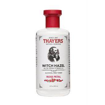 Harga Thayers Alcohol-Free Rose Petal Witch Hazel with Aloe Vera, 12 Fluid Ounce