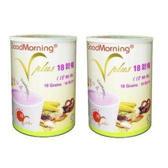 Harga Good Morning VPlus 18 Grains ( New Formula ) 1kg x 2