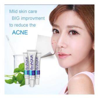 Harga BIOAQUA Face Acne Treatment Acne Scars Cream Anti Acne Removal Gel Whitening Moisturizing Cream 30g