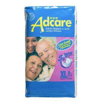 Harga Adcare Adult Diapers Leak Guard (XL Size 6 PCS)
