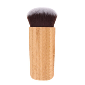 Harga KissU Best Makeup Brushes Kabuki Brush Cheap Make Up Foundation Brush Loose Powder Brush