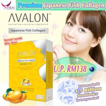 Harga Avalon Japanese Fish Collagen Mango Flavor 2500mg