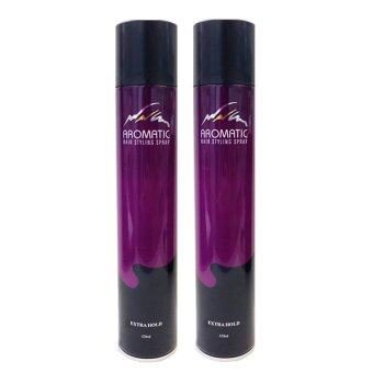 Harga Aromatic Hair Styling Spray Extra Hold 420ml (Twin pack)
