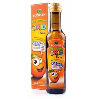 Harga BIOGREEN O'Kid Flaxseed Oil 250ml