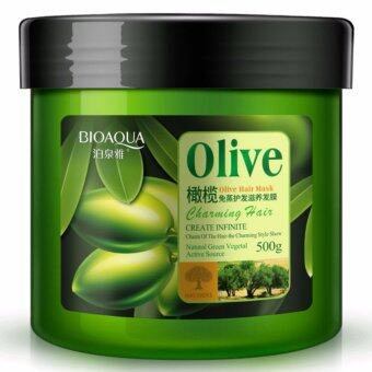 Harga Bioaqua Olive Hair Mask_Nourishing_Moisturizing_Repair_Conditioner