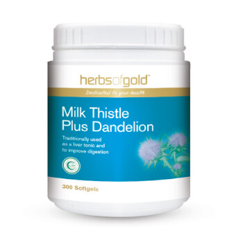 Harga Herbs Of Gold Milk Thistle Plus Dandelion 300's