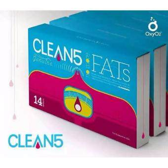 Harga (6Box FREE GIFT) Clean5 No More Fats OXYO2 Premium Quality USA Formulated