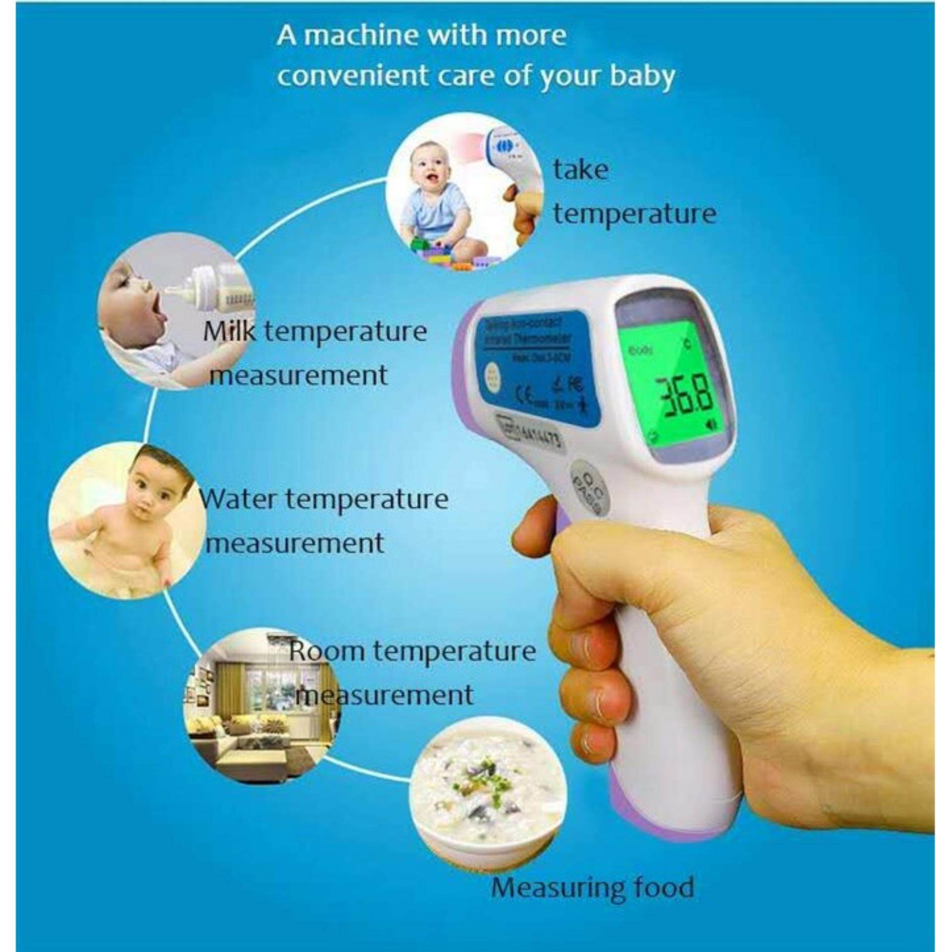 Infrared Forehead Body Thermometer Gun
