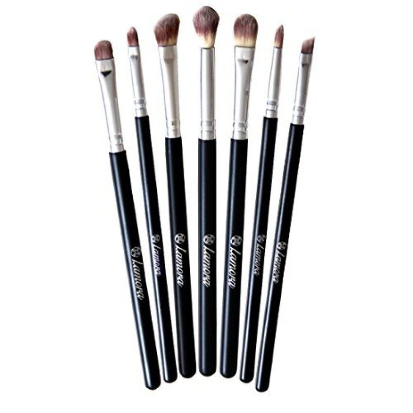 [International Shipping]Makeup Eye Brush Set - Eyeshadow EyelinerBlending Crease Kit - Best Choice 7 Essential Makeup Brushes -Pencil. Shader. Tapered. Definer - Last Longer. Apply Better Makeup& Make You Look Flawless!(해외배송) MAC XS10250 - intl