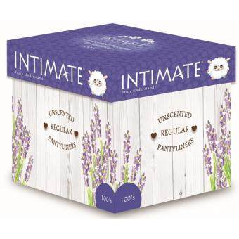 Intimate Regular Pantyliner 100's x 3 pkts