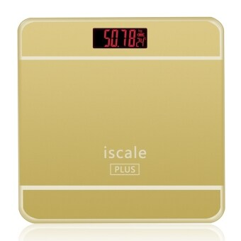 Iscale Plus Digital Scale High Accuracy Weight Scale (Gold)