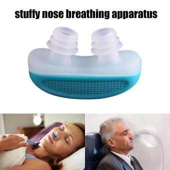 kCmall Anti Snoring Snore Free Snore Stopper Magnetic Silicone NoseClip Sleeping Device (random color)