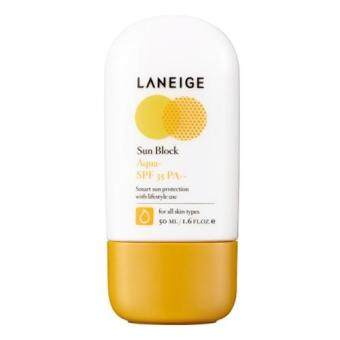 Harga [LANEIGE] Sunblock Aqua+ SPF35 PA++ 50ml / Water Drop / Moisture Sun cream