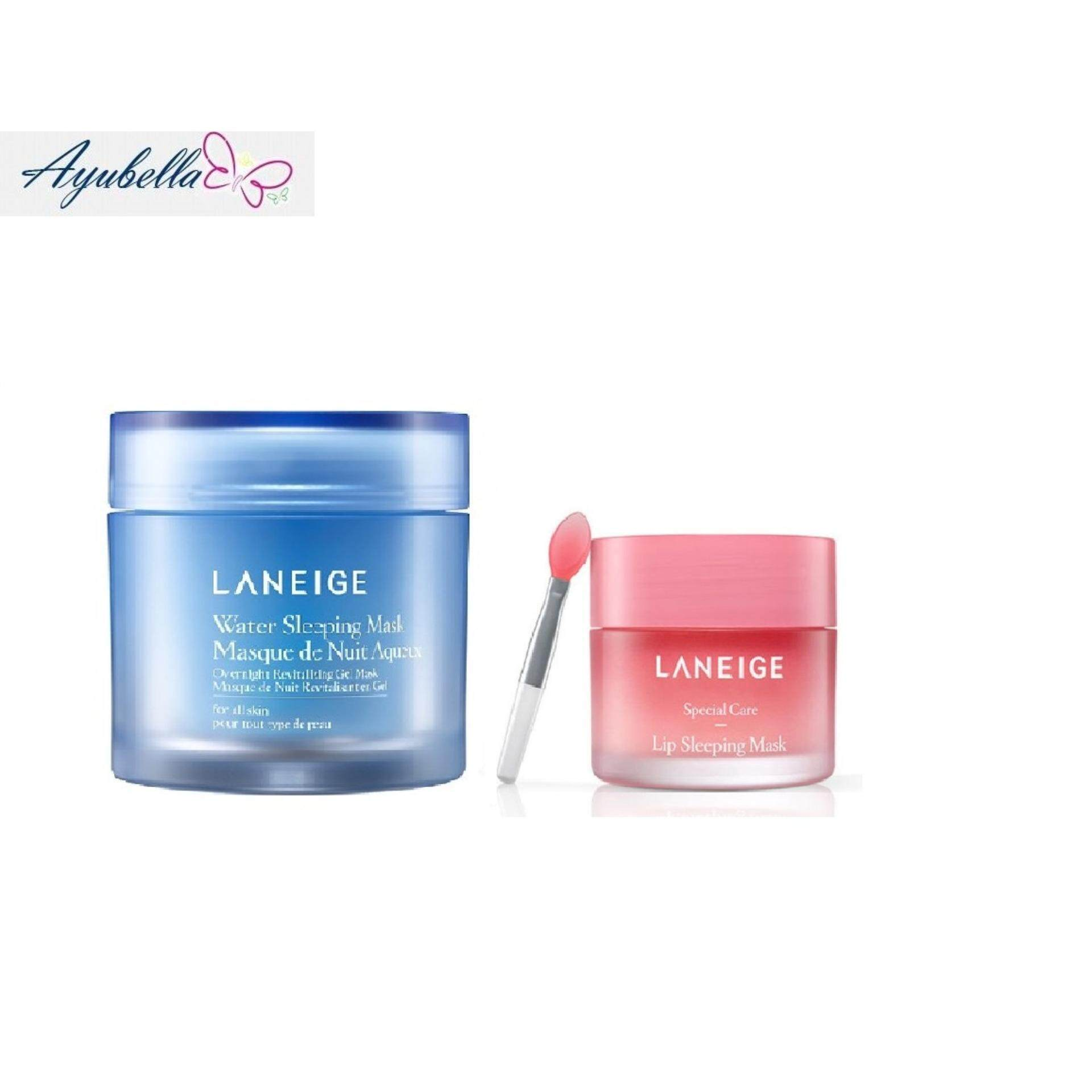 Laneige Water Sleeping Mask 70ml Lip 20ml 20gr