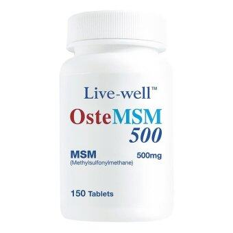 Live Well Oste Msm 500Mg 150T