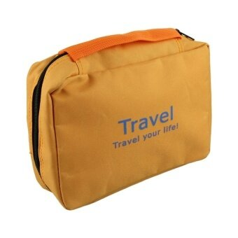 Make up bag naturehike necessaries beauty cosmetic bags case Orange - intl