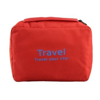Make up bag naturehike necessaries beauty cosmetic bags case Red - intl