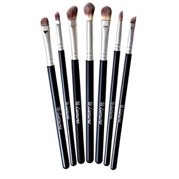 Makeup Eye Brush Set - Eyeshadow Eyeliner Blending Crease Kit - Best Choice 7 Essential Makeup Brushes - Pencil, Shader, Tapered, Definer - Last Longer, Apply Better Makeup & Make You Look Flawless! - intl