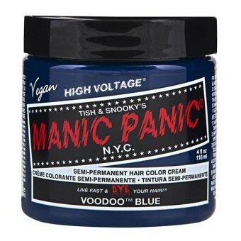[MANIC PANIC] VOODOO BLUE / SEMI-PERMANENT HAIR COLOR CREAM / HAIRDYE (Intl)