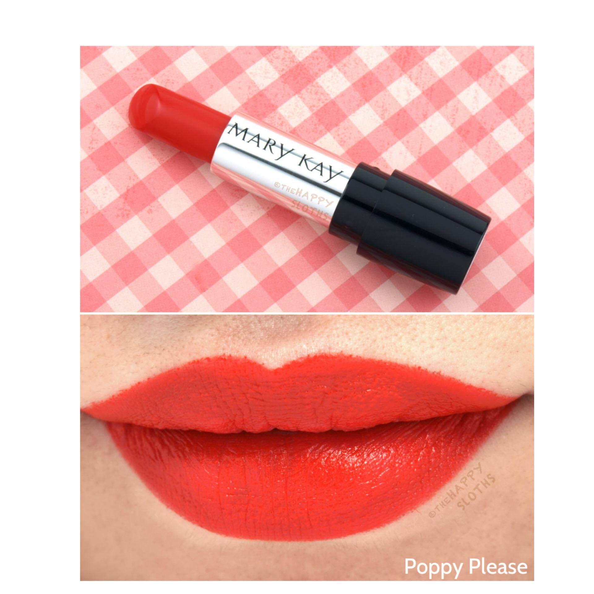 MARY KAY Gel Semi-Matte Lipstick - Poppy Please3.6g lipstick