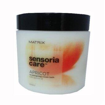 Harga Matrix Sensoria Care Apricot Re-Energizing Cream Bath (500ml)