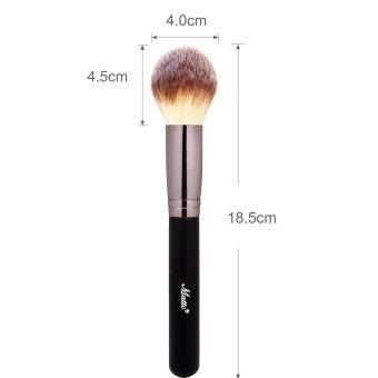Matto 3pcs Makeup Brushes Set Powder Blush Foundation Contour Brushfor Makeup Beauty Make Up Tools (Black) - 4