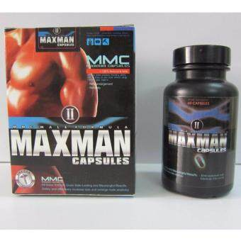 Harga (MAX MAN) ORIGINAL 60 Capsules - Most Powerful Male Pills - 100% Natural Herbal - (MAXMAN MAXMEN MAX MEN)